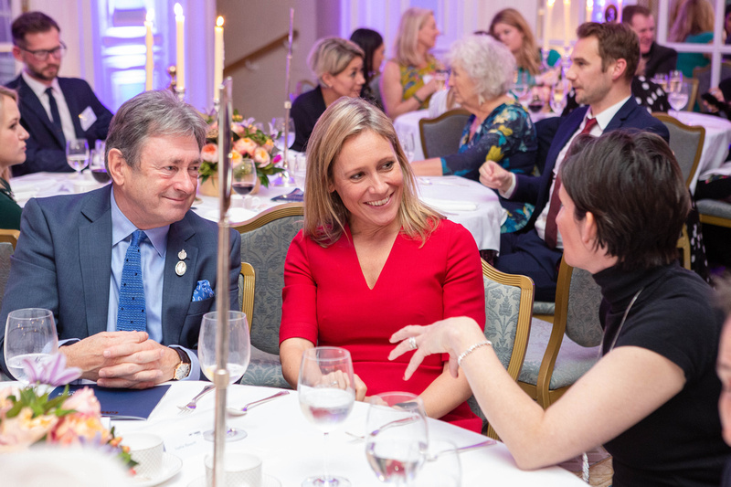 Alan Titchmarsh, Sophie Raworth and Tamsin Westhorpe at The Garden Media Guild Awards 2018