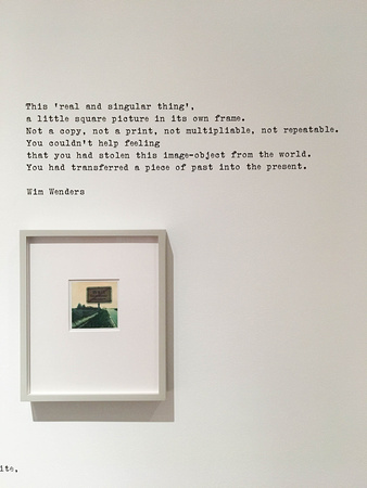 Instant Stories. Wim Wenders Polaroidsat The Photographers' Gallery in London