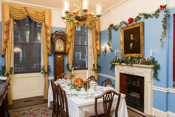 Christmas at the Charles Dickens Museum, London