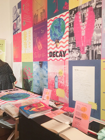 Launch of Accumulate's DECAY Zine, Issue 2