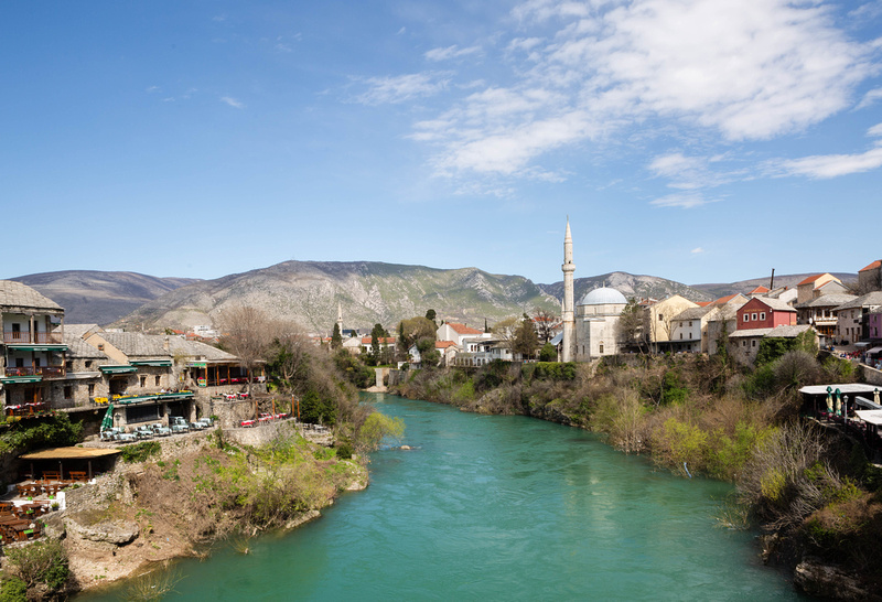 View from Stari Most