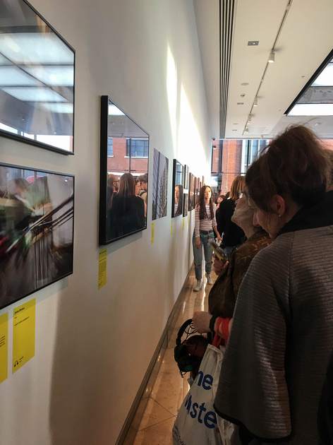 Accumulate's 'Displacement' exhibition at the Guardian offices