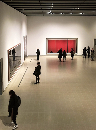 Andreas Gurkst exhibition at the Hayward Gallery