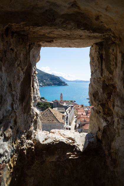View across the Old Town, Dubrovnik