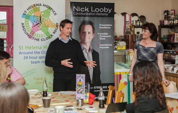 Business Women's Network, Colchester, 1 May 2014
