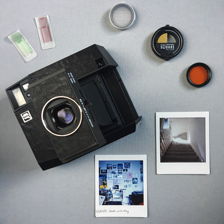 Lomo'Instant Square, accessories and print
