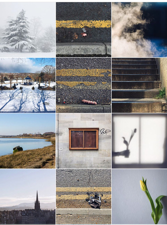 My Instagram grid at the moment